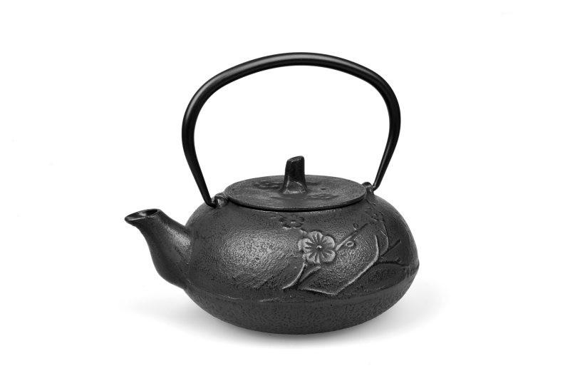 MAOCI Gusseisen-Teekanne Toyawa (schwarz) - 1,2L