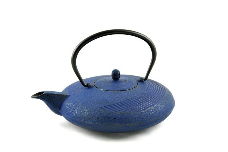 MAOCI Gusseisen-Teekanne Tsuki (nachtblau) - 1,1L