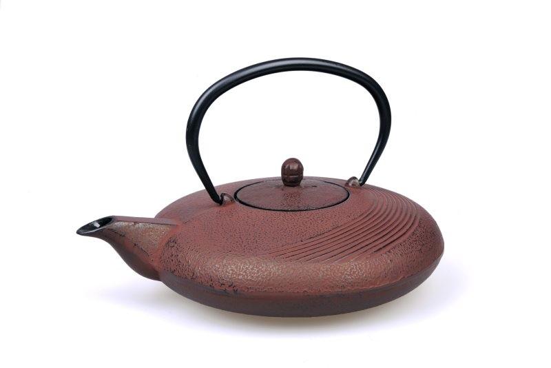 MAOCI Gusseisen-Teekanne Tsuki (weinrot) - 1,1L