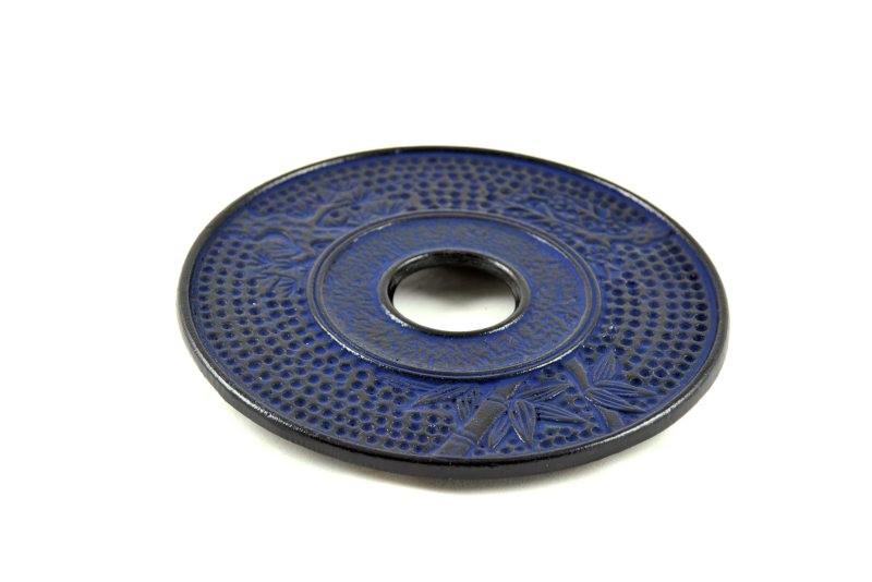 MAOCI Gusseisen Untersetzer Kitami (nachtblau), Ø 17cm