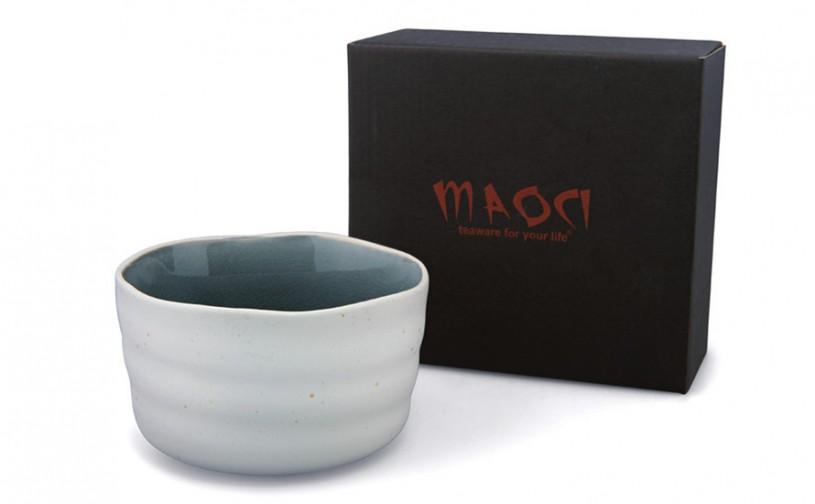 Matcha-Schale 400ml hell, mit Geschenkkarton
