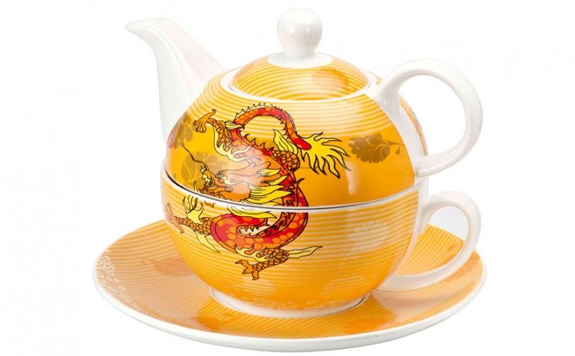 Porzellan Fine Bone China Tea for one 'Eragon'