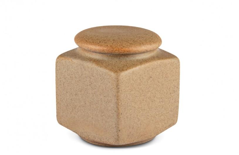 Porzellan Teedose braun, 200ml