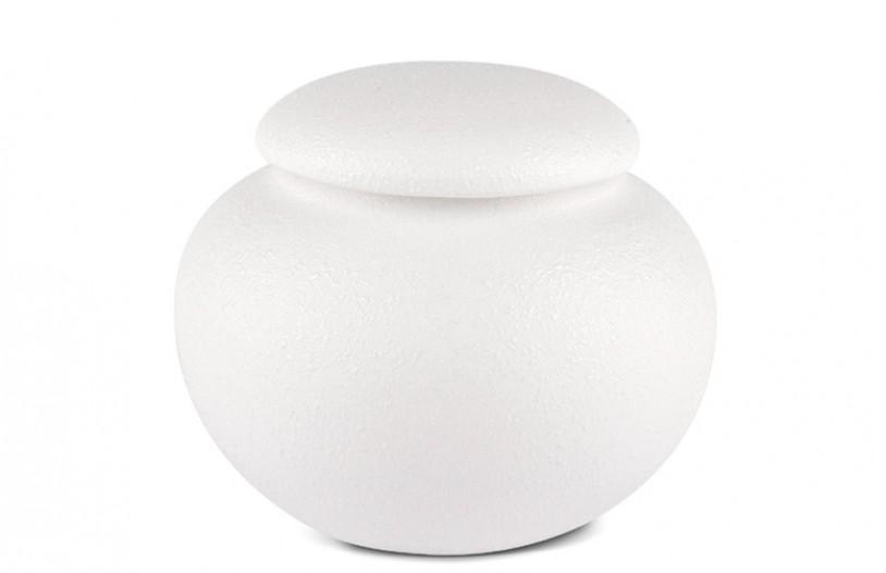 Porzellan Teedose weiß, 440ml
