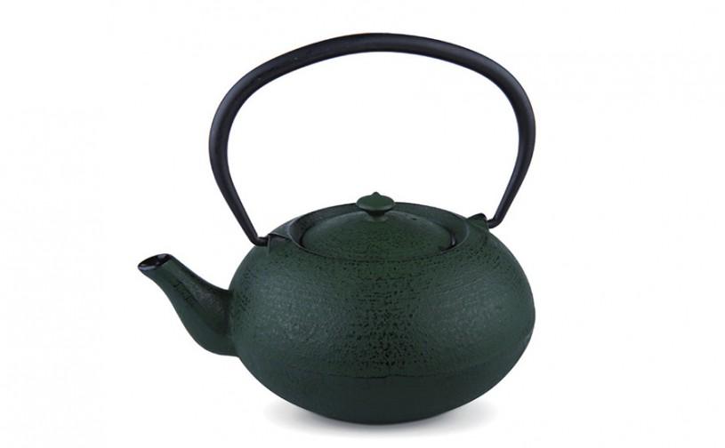 MAOCI Gusseisen-Teekanne Komo 10 (grün) - 1,0L