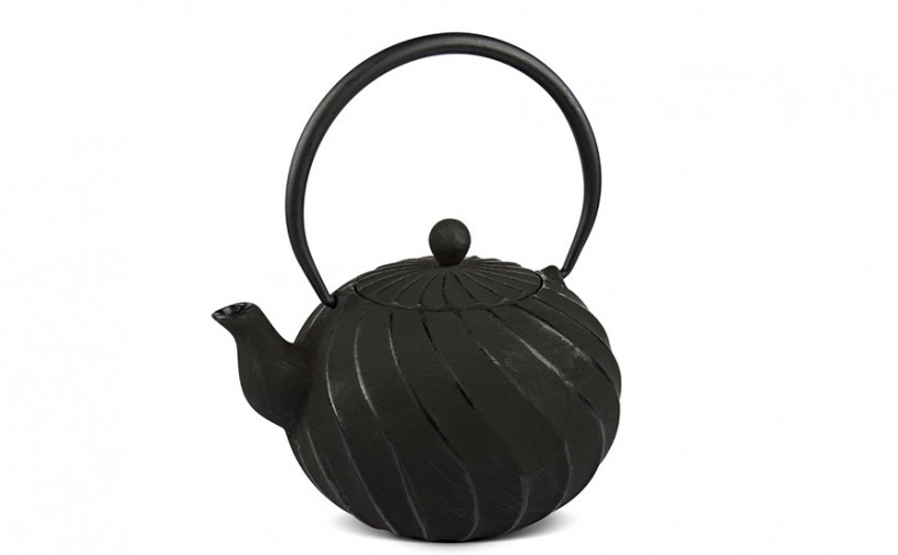 MAOCI Gusseisen-Teekanne Kiyoko (schwarz) - 1,0L