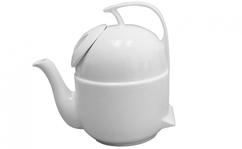 Porzellan Teekanne 'Sleeping Pot'
