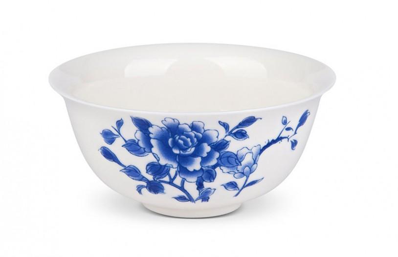 Teeschale blaue Blume 130ml - MAOCI