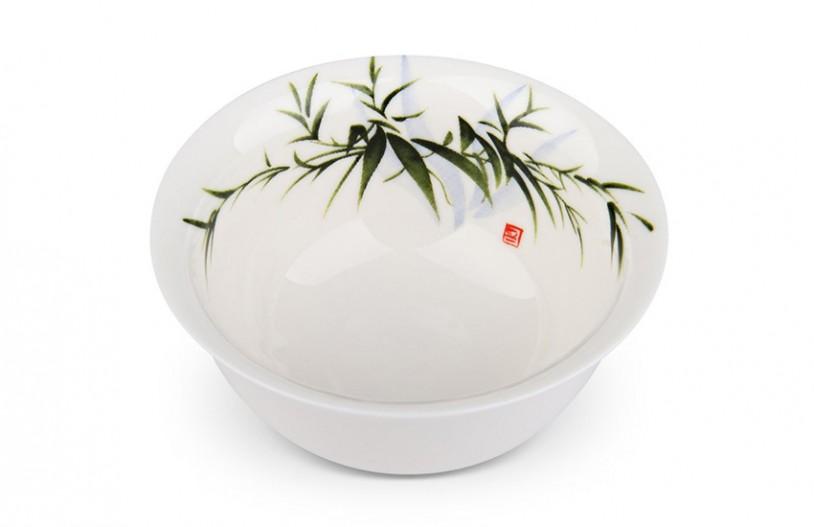 Teeschale grüne Bambusblätter 130ml - MAOCI