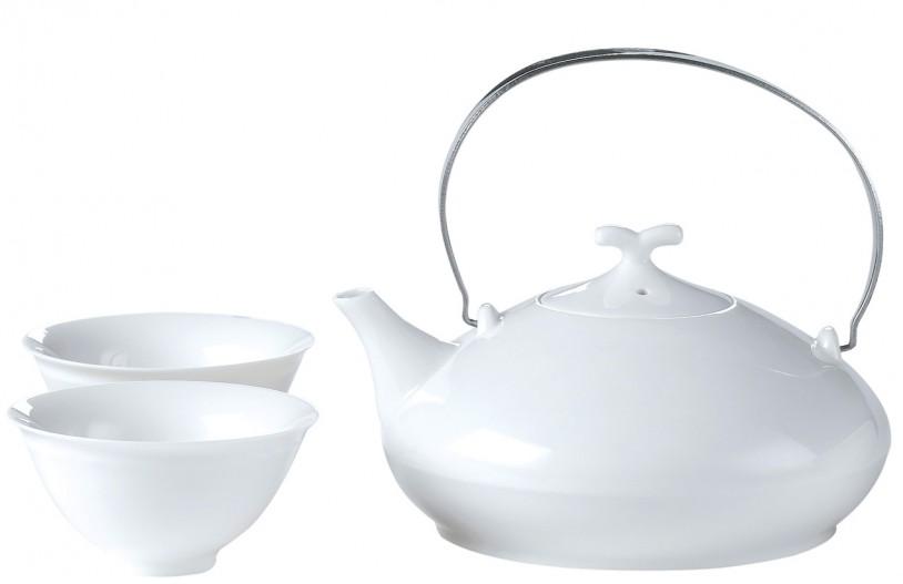 Porzellan Set 'Geisha', 0,55 Liter, 5-tlg. mit 4 Cups