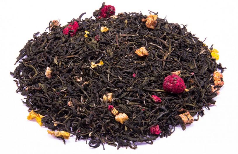 Weißer Tee 'Himbeer-Physalis'