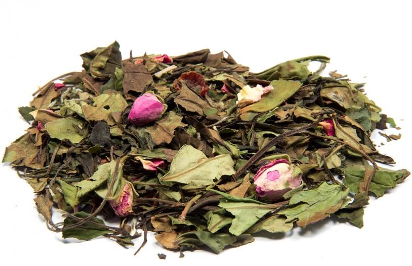 Weißer Tee 'Weiße Rose'