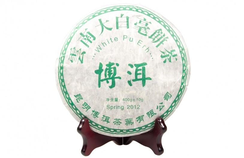 Weißer Pu Erh Beeng Cha (Teekuchen)