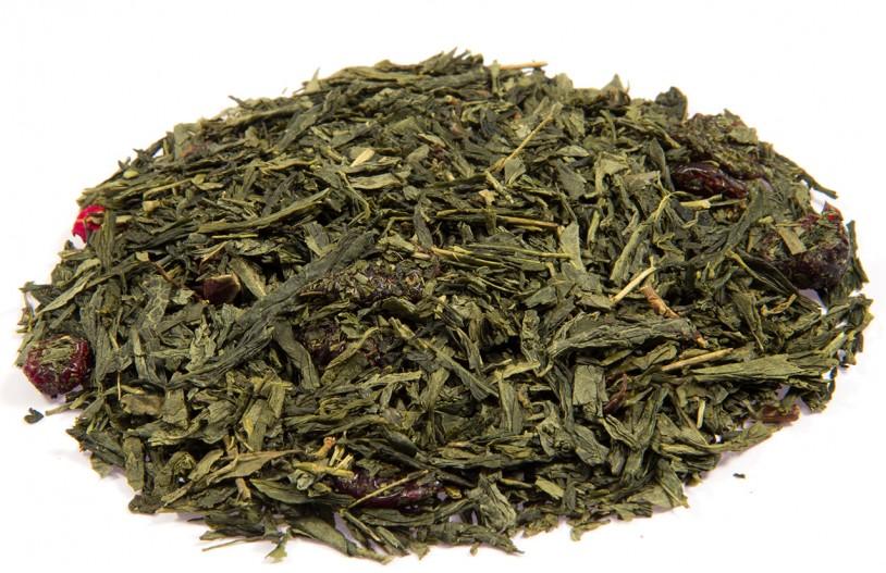 Grüner Tee 'Wildkirsch-Marzipan'