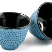 MAOCI Gusseisen-Teacups Arare (himmelblau), 2 Stück, 0,15L - Vorschau