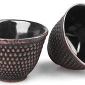 MAOCI Gusseisen-Teacups Arare (gold), 2 Stück, 0,15L - Vorschau