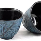MAOCI Gusseisen-Teacups Kitami (himmelblau), 2 Stück, 0,15L - Vorschau
