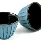MAOCI Gusseisen-Teacups Fuju (himmelblau), 2 Stück, 0,15L - Vorschau