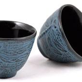 MAOCI Gusseisen-Teacups Mito (himmelblau), 2 Stück, 0,15L - Vorschau