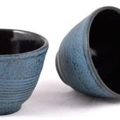 MAOCI Gusseisen-Teacups Tsuki (himmelblau), 2 Stück, 0,15L - Vorschau