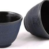 MAOCI Gusseisen-Teacups Tsuki (nachtblau), 2 Stück, 0,15L - Vorschau