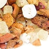 Früchtetee 'Minz-Zuckerstange'