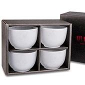 4 Glas-Teacups im Geschenkset (4x100ml)