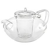 Glas Teekanne 'Yao' 1,2L mit Glassieb