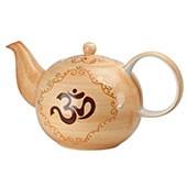 Keramik Teekanne 'India', 1,5L mit Sieb