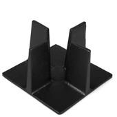 MAOCI Gusseisen Stövchen Mino, groß (schwarz) - Vorschau