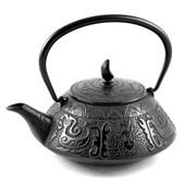 MAOCI Gusseisen-Teekanne Akita (schwarz) - 0,75L - Vorschau