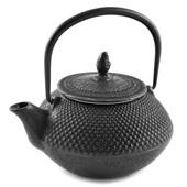 Teekanne Gusseisen Arare 0,3L (schwarz)
