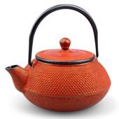Teekanne Gusseisen Arare 0,7L (kaminrot)
