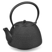 MAOCI Gusseisen-Teekanne Arare Modern (schwarz) - 1,2L - Vorschau