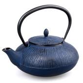 MAOCI Gusseisen-Teekanne Dalian (nachtblau) - 0,75L - Vorschau