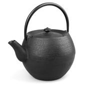 MAOCI Gusseisen-Teekanne Kama 10 (schwarz) - 1,0L - Vorschau