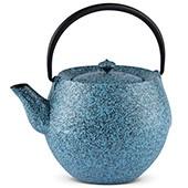 MAOCI Gusseisen-Teekanne Kama (sprayed, himmelblau) - 1,0L - Vorschau