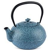 MAOCI Gusseisen-Teekanne Kano (sprayed, himmelblau) - 1,1L - Vorschau