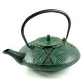 MAOCI Gusseisen-Teekanne Kitami flach (grün) - 1,2L - Vorschau