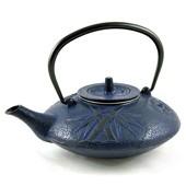 MAOCI Gusseisen-Teekanne Kitami flach (nachtblau) - 1,2L