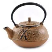 MAOCI Gusseisen-Teekanne Kitami rund (ocker) - 1,4L - Vorschau