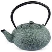 MAOCI Gusseisen-Teekanne Komo (sprayed, mintgrün) - 1,0L - Vorschau