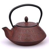 MAOCI Gusseisen-Teekanne Nanyang (weinrot) - 1,2L - Vorschau