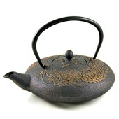 MAOCI Gusseisen-Teekanne Okinawa (gold) - 1,2L - Vorschau