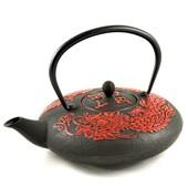 MAOCI Gusseisen-Teekanne Okinawa (rot) - 1,2L - Vorschau