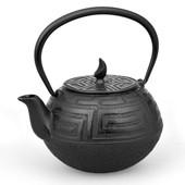MAOCI Gusseisen-Teekanne Saga (schwarz) - 0,75L - Vorschau