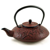 MAOCI Gusseisen-Teekanne Sakai (weinrot) - 1,2L - Vorschau