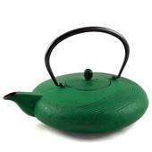 MAOCI Gusseisen-Teekanne Tsuki (grün) - 1,1L - Vorschau