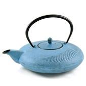 MAOCI Gusseisen-Teekanne Tsuki (himmelblau) - 1,1L - Vorschau