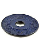 MAOCI Gusseisen Untersetzer Kitami (nachtblau), Ø 17cm - Vorschau